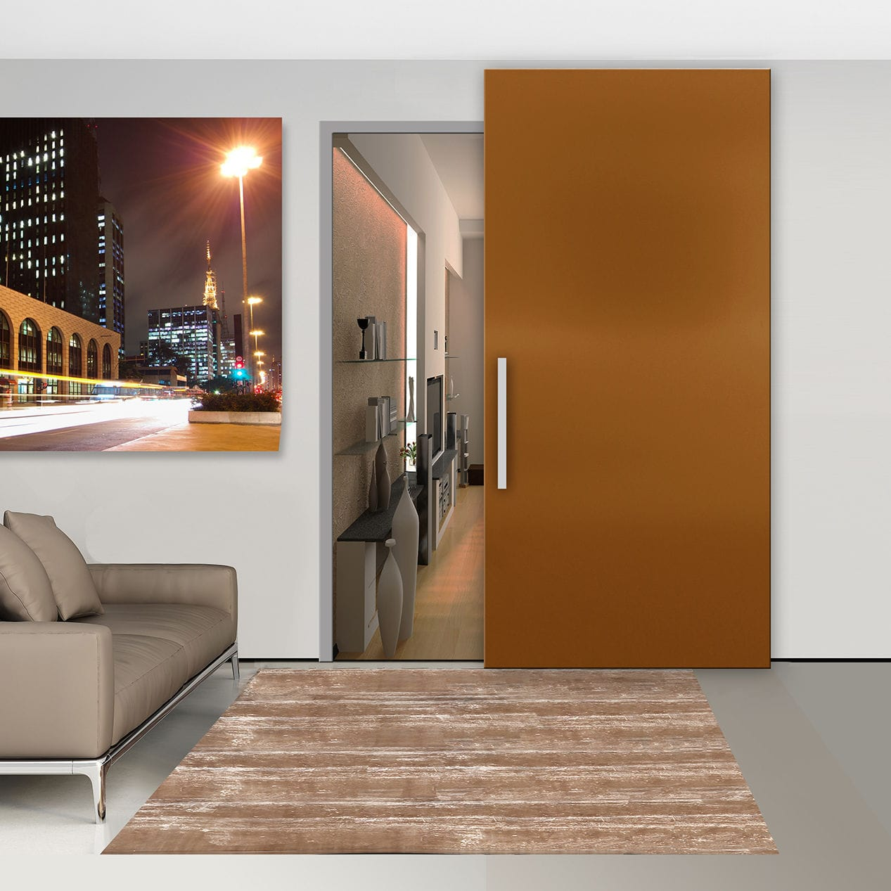 Glass Sliding Door System Wood Invisible Openspace Sliding