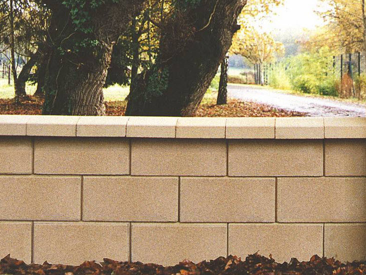 Charmant Hollow Concrete Block / For Retaining Walls / High Performance / Exposed    GARDEN®