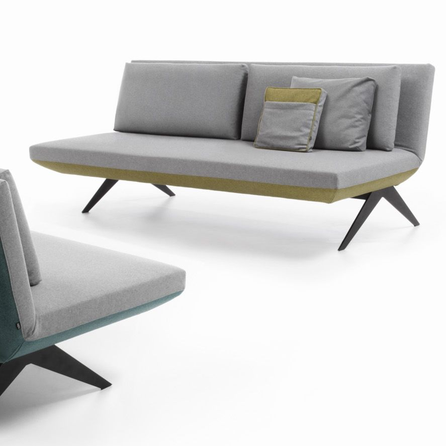 Sofa Bed / Contemporary / Fabric / Folding   LCD By Renata Kalarus