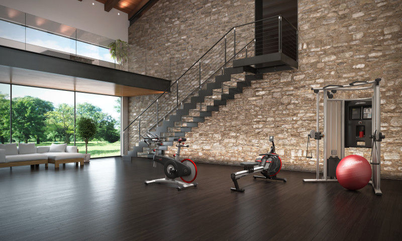 Multifunction fitness machine g home gym life fitness videos