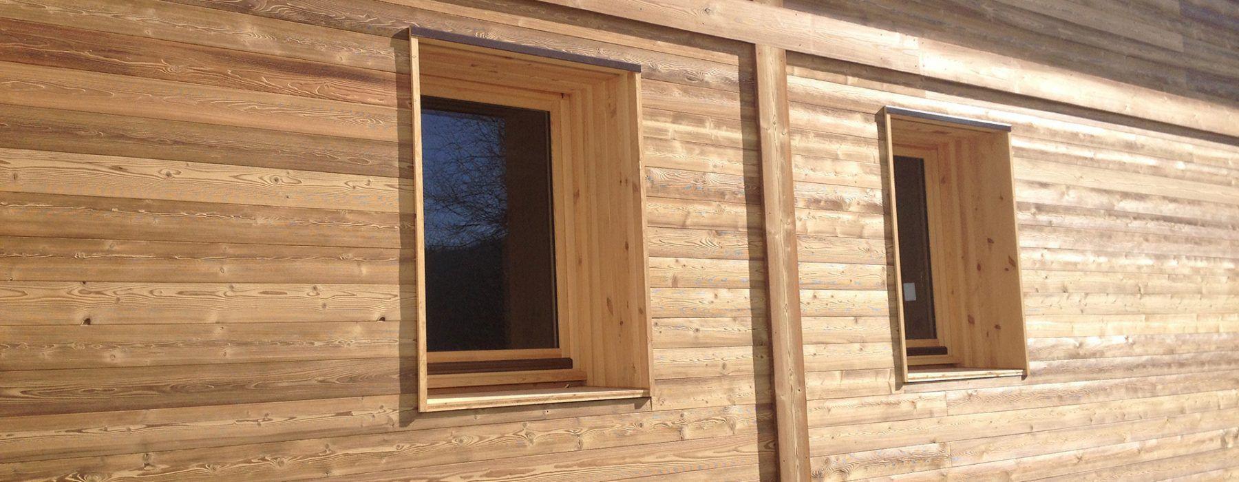 Wooden wall cladding / exterior / interior - MÉLÈZE DE SIBÉRIE ...