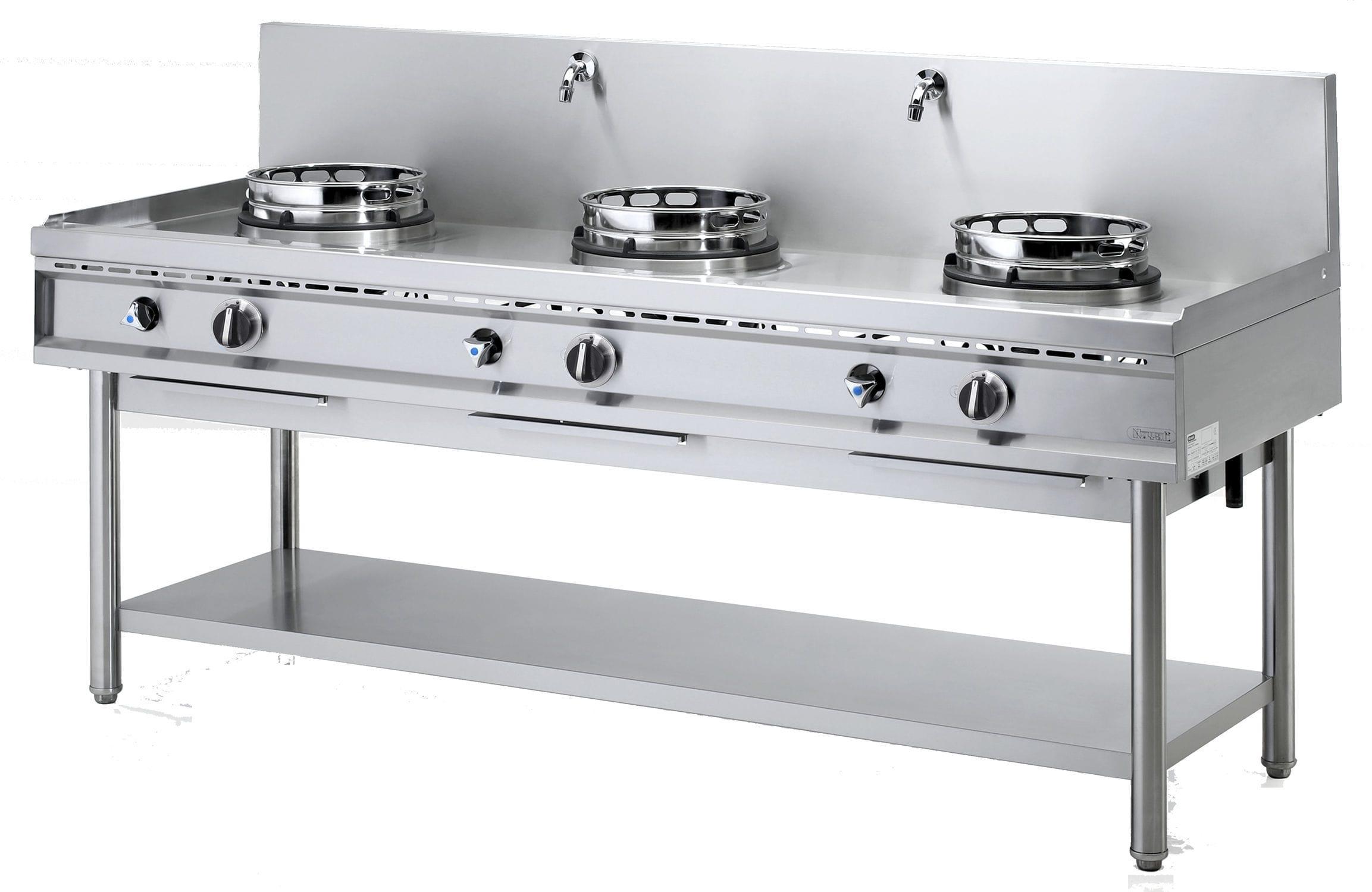 gas range cooker commercial wok nger