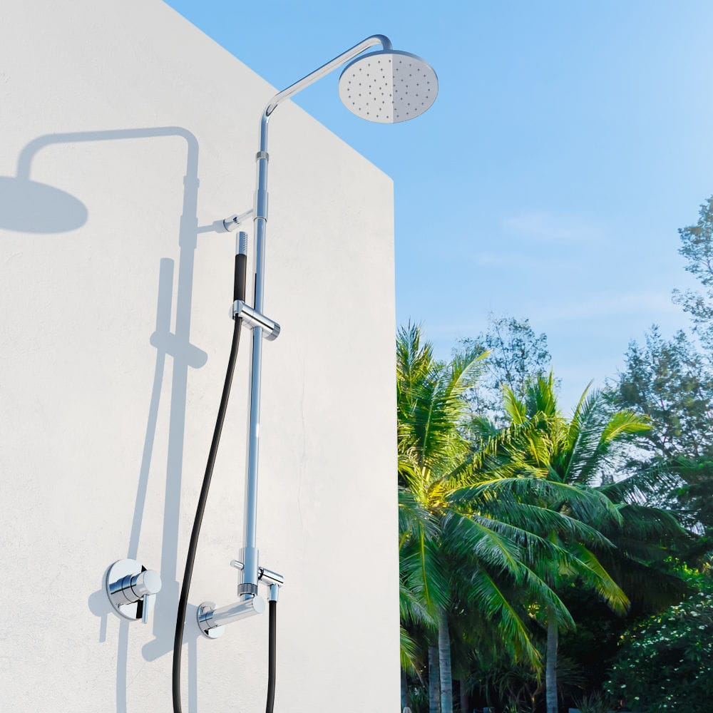Stainless Steel Outdoor Shower Waterline Shower W51 E Mr1