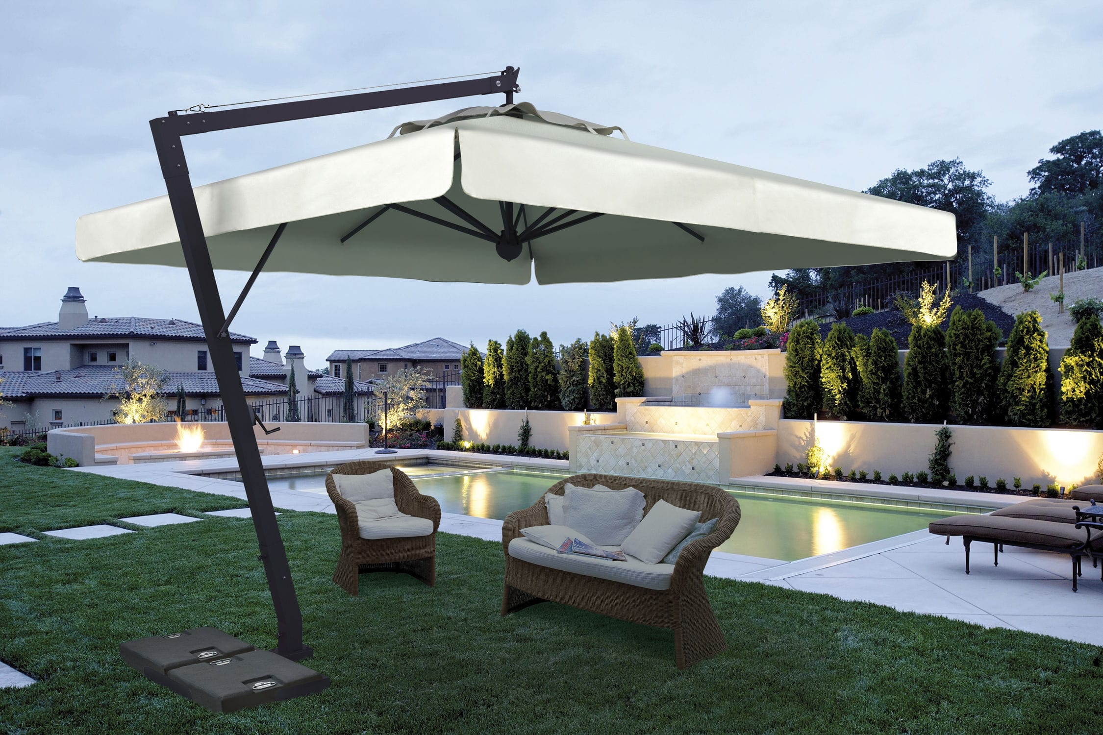watch poggesi outdoor commercial and residential umbrellas usa patio