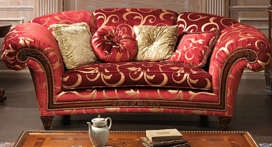 Amazing ... Classic Sofa / Fabric / 2 Seater / Red PALACE VIMERCATI MEDA LUXURY  CLASSIC FURNITURE