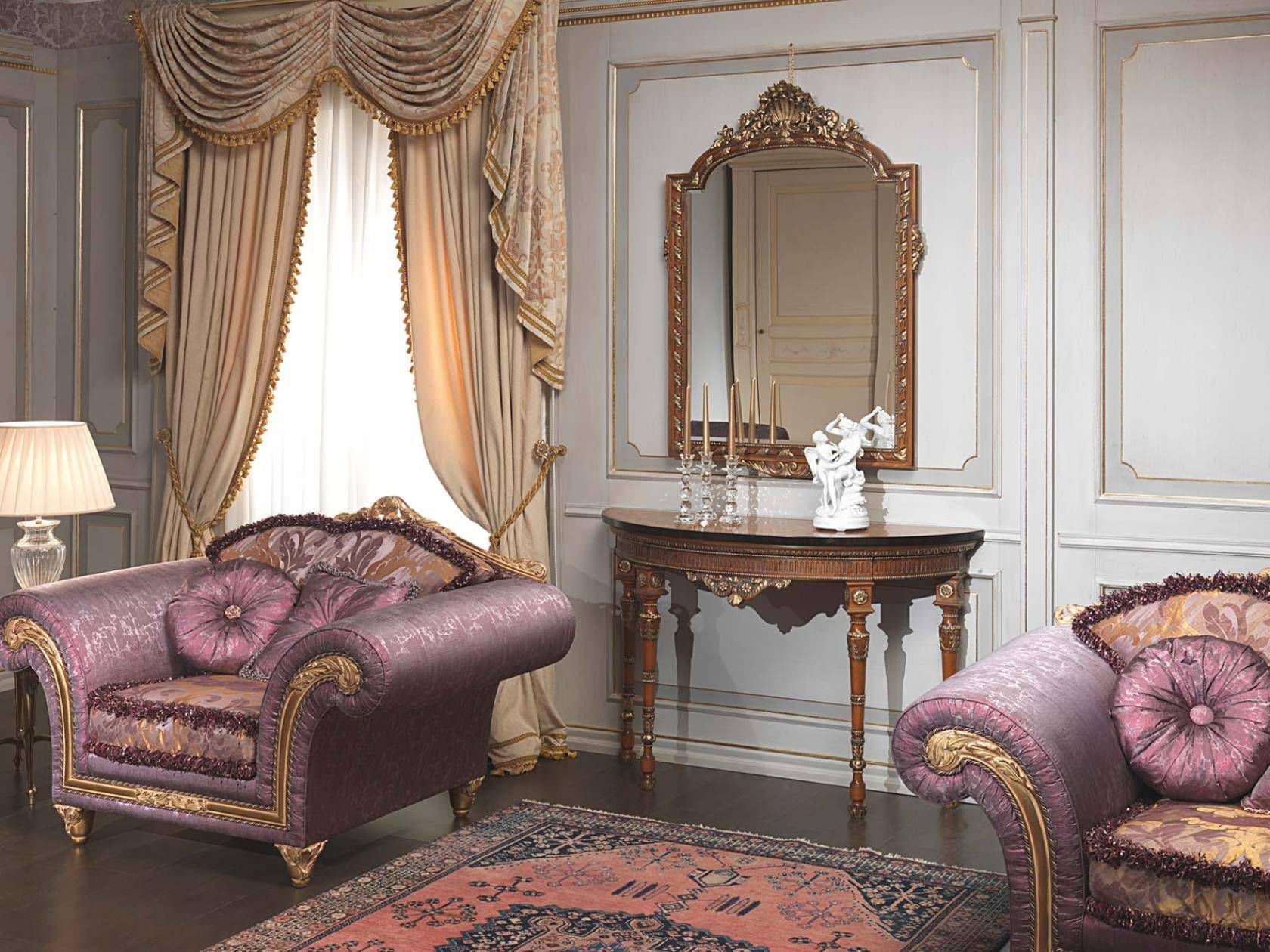 Imperial furniture - Classic Armchair Textile Imperial Vimercati Meda Luxury Classic Furniture