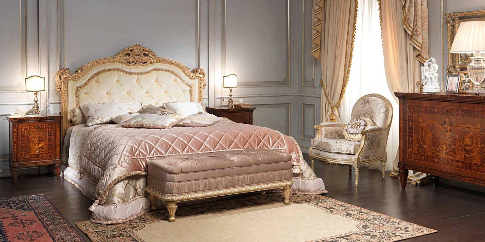 Camera da letto matrimoniale stile veneziano: camera da letto in ...