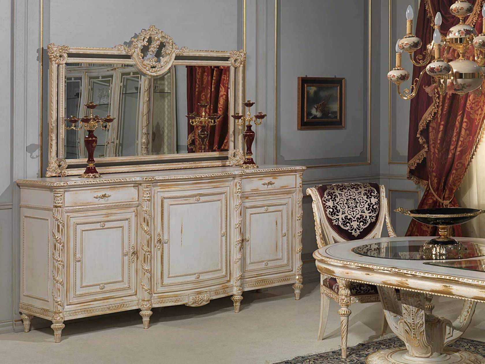 Classic sideboard / wooden - LOUIS XVI - VIMERCATI MEDA LUXURY ...