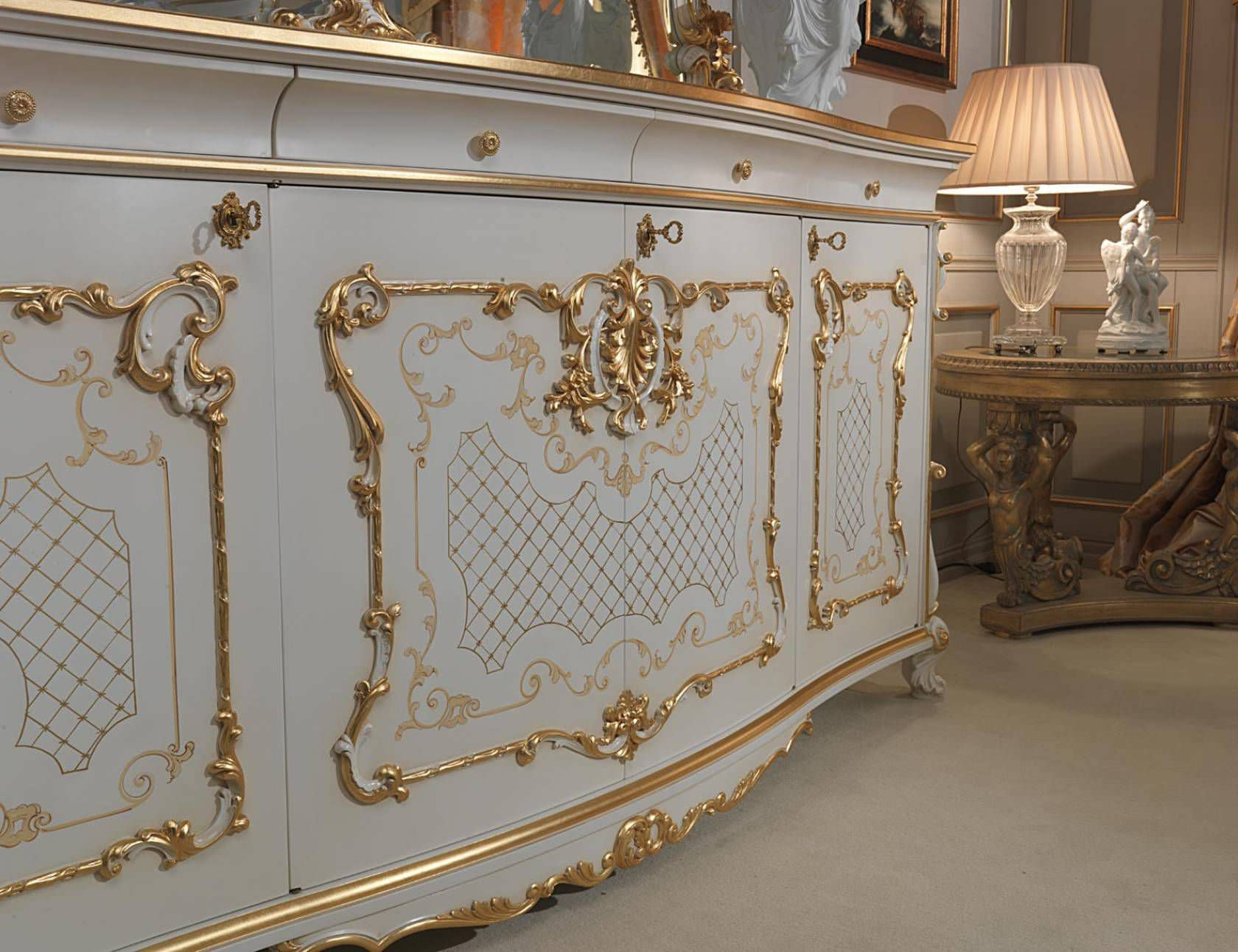 Venice Furniture #9 - Louis XV Style Sideboard / Wooden ...