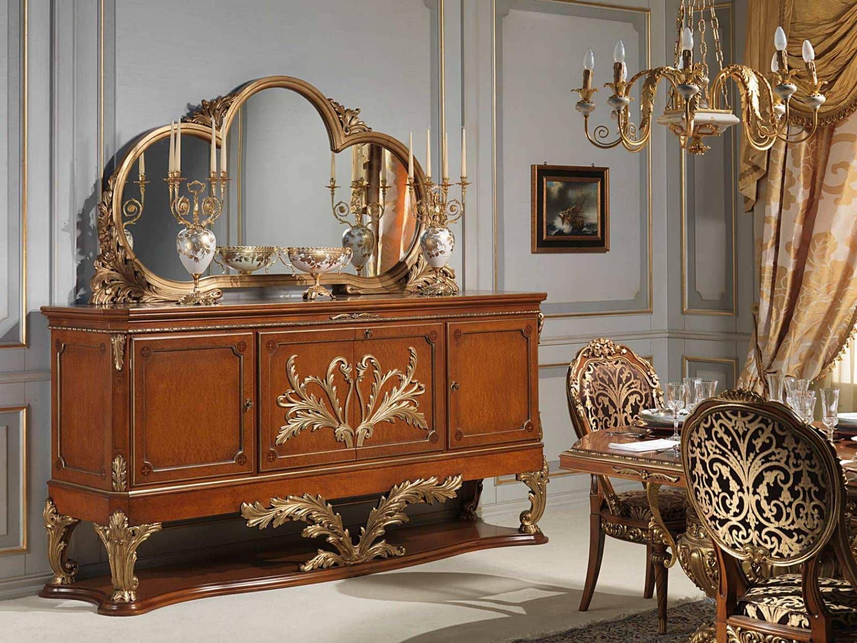 Louis XVI Style Sideboard / Wooden   VERSAILLES
