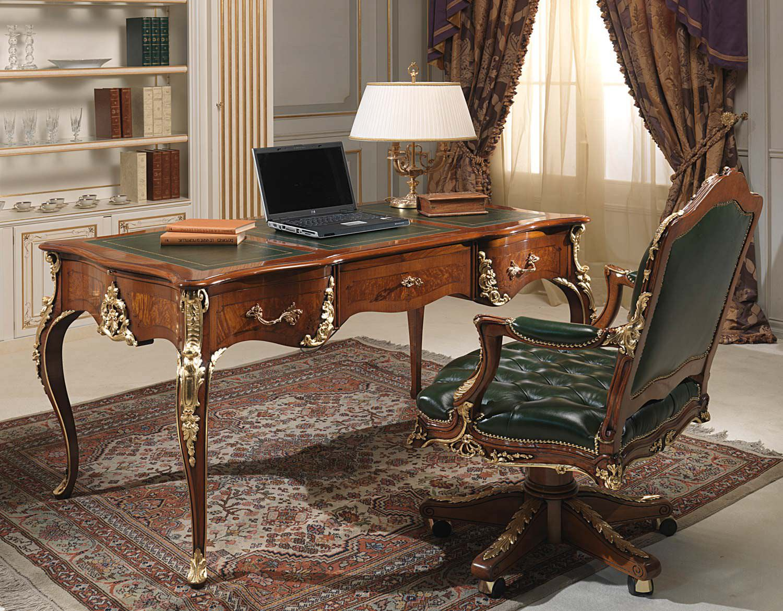 classic office desks. Classic Office Desk. Armchair / Wooden Leather Swivel Vimercati Meda Luxury Furniture Desks