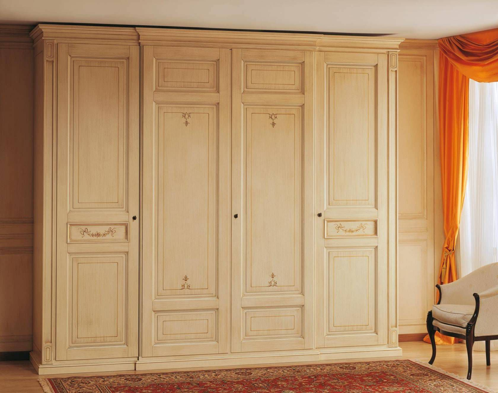 Traditional Wardrobe / Wooden / Lacquered Wood / With Swing Doors CANOVA  VIMERCATI MEDA LUXURY CLASSIC ...