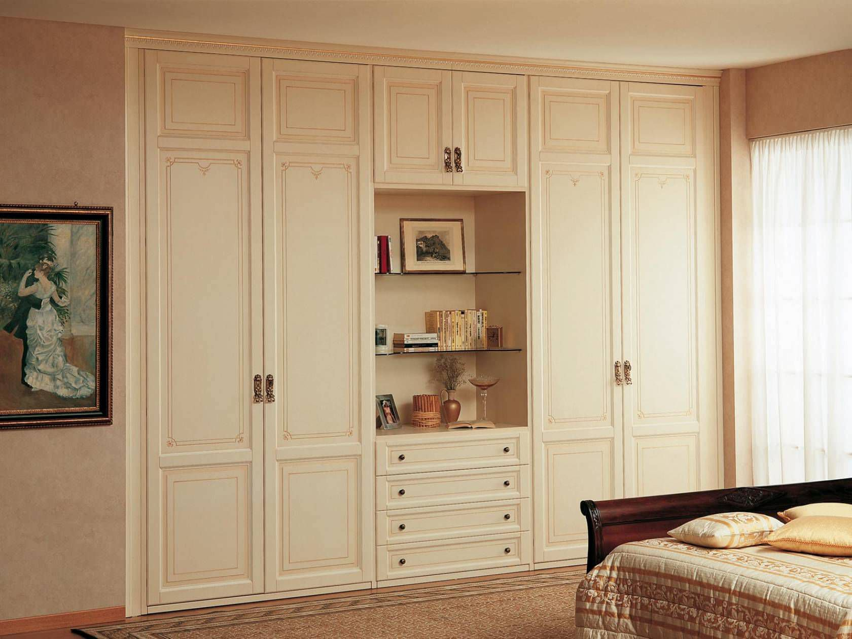 Traditional wardrobe / wooden / with swing doors PORTABLE VIMERCATI MEDA LUXURY CLASSIC FURNITURE ... & Traditional wardrobe / wooden / with swing doors - PORTABLE ... Pezcame.Com