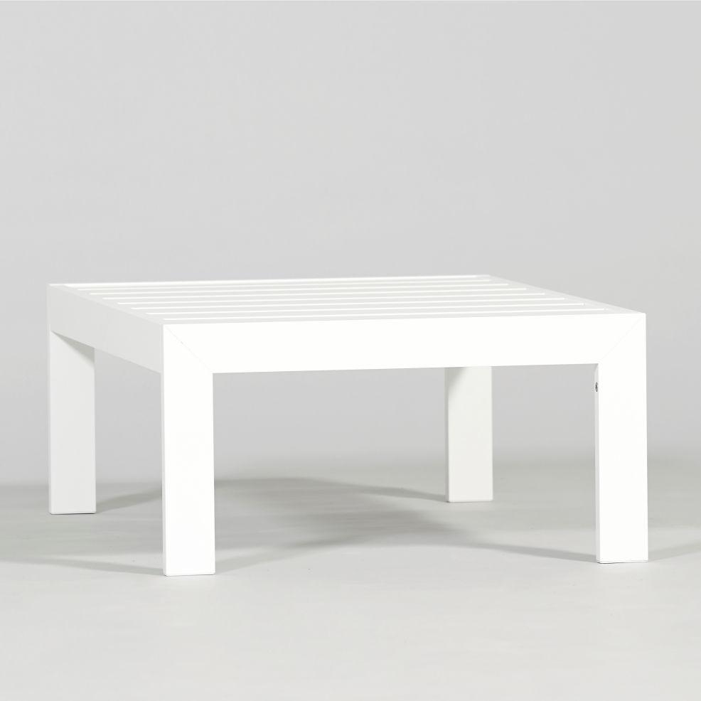 Contemporary Coffee Table / Aluminum / Rectangular / Garden   YORK