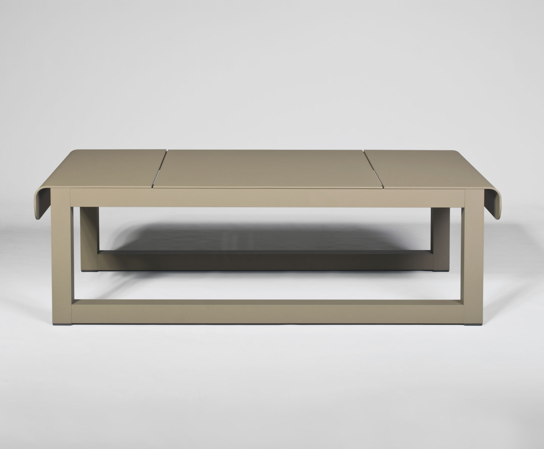 Contemporary coffee table rectangular mercial garden
