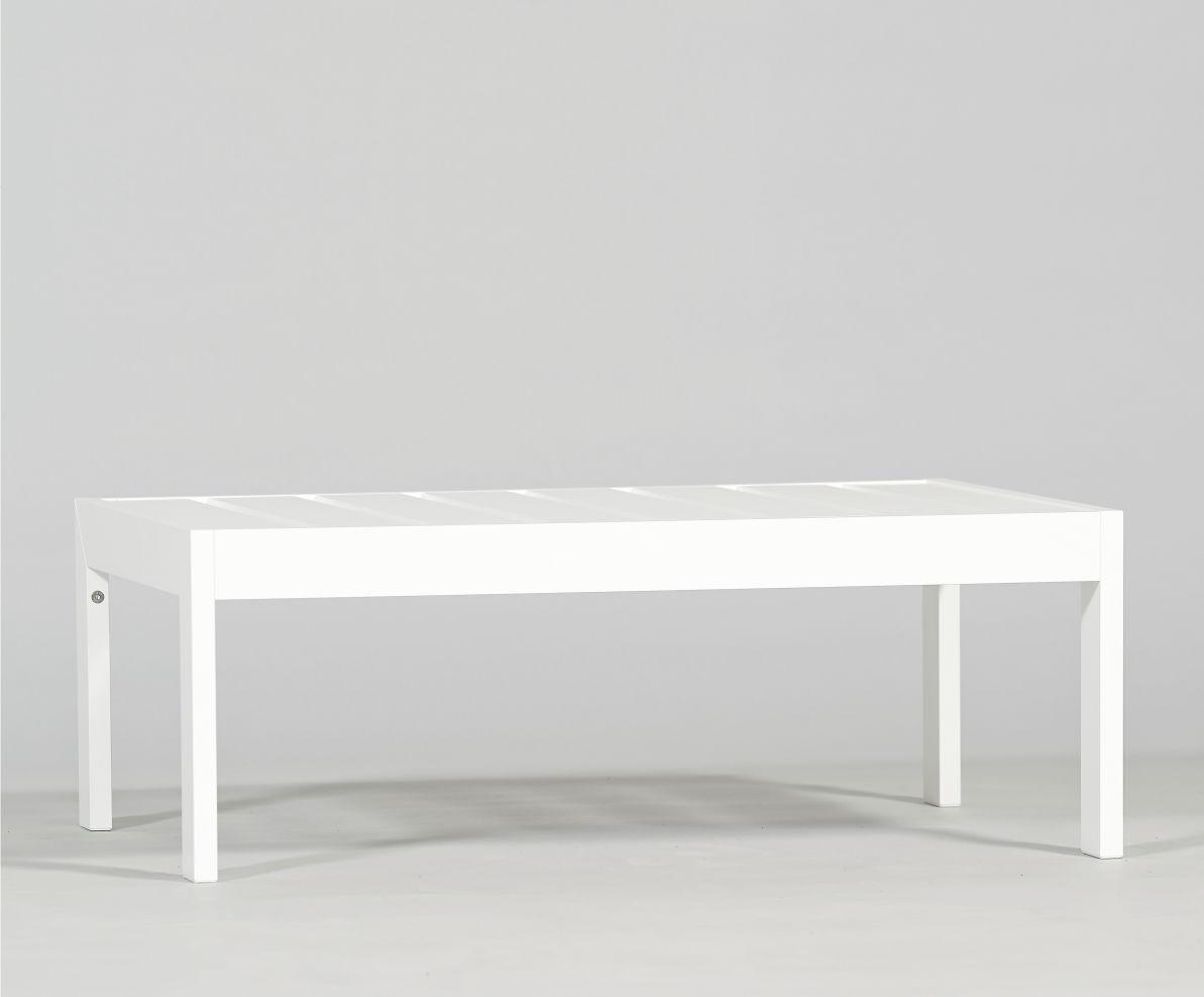 Contemporary Coffee Table / Aluminum / Rectangular / Garden ...