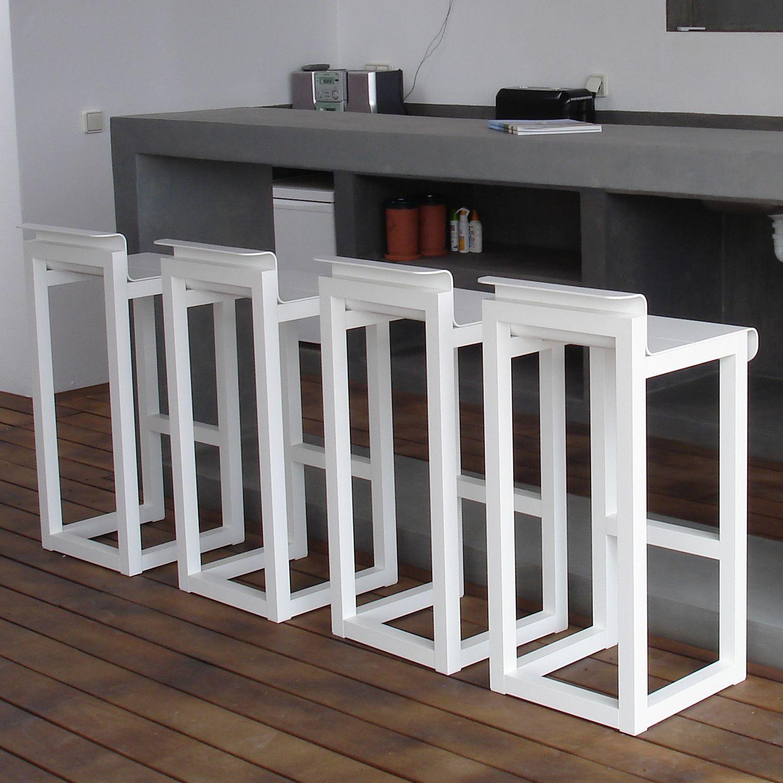 contemporary bar furniture. Contemporary Bar Stool / Aluminum Commercial Garden - WEST COAST By Carlos Aguiar Furniture P