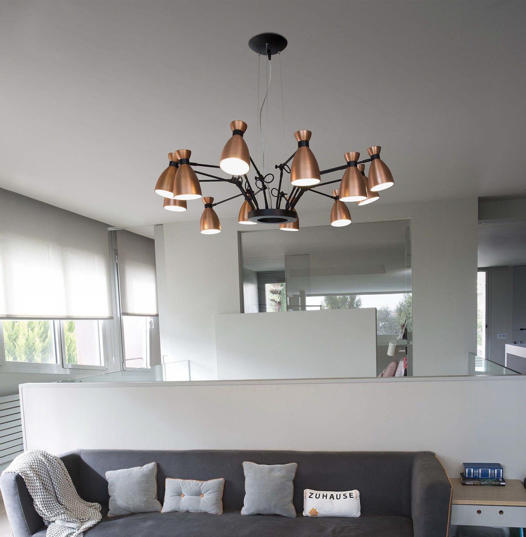 Contemporary chandelier metal led retro by alex manel contemporary chandelier metal led retro by alex manel llusc arubaitofo Image collections