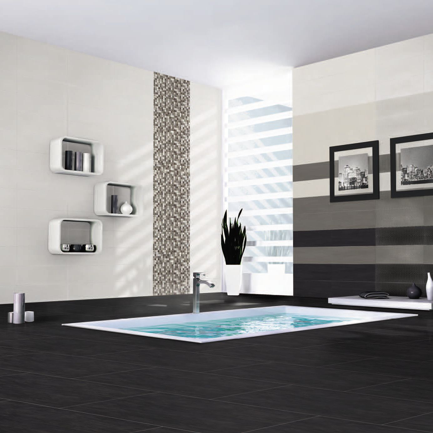 Indoor tile / living room / wall / floor - CODE - AZULEJOS PLAZA