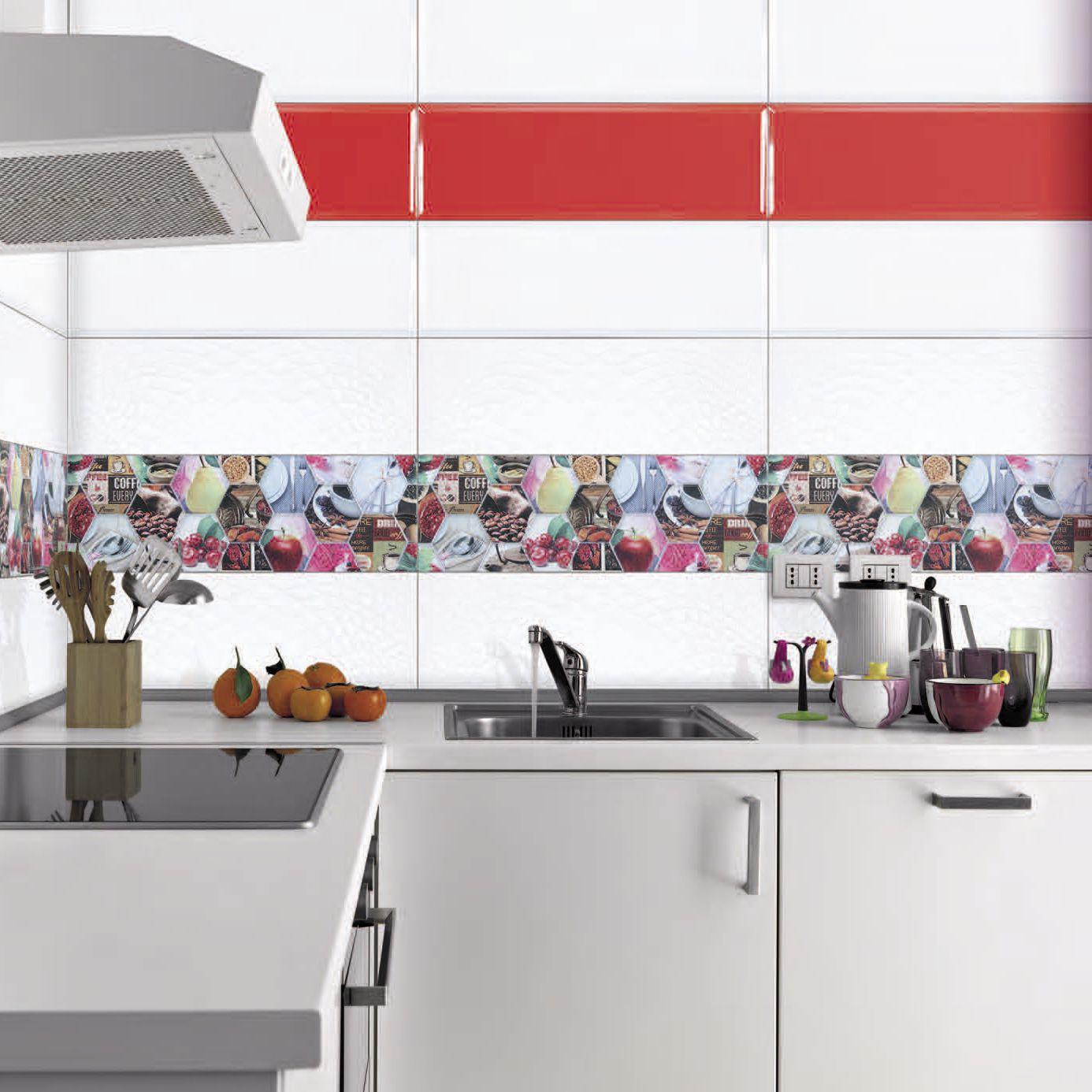 Bathroom tile / kitchen / wall / ceramic - LINK - AZULEJOS PLAZA