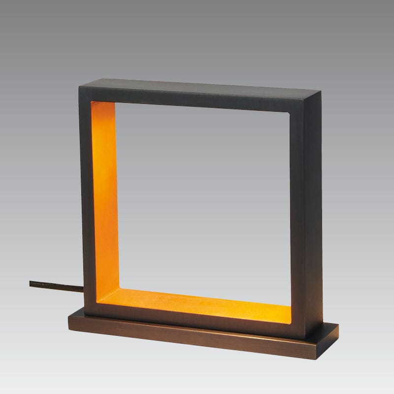 Table Lamp Contemporary Bronze Led Hehou Stephane Davidts
