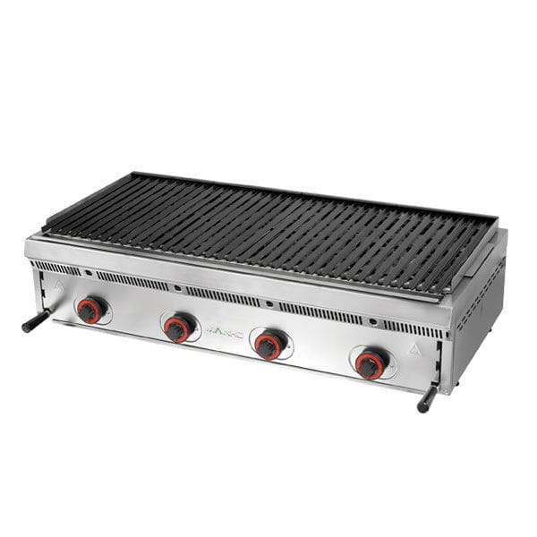 gas grill countertop commercial serie bras