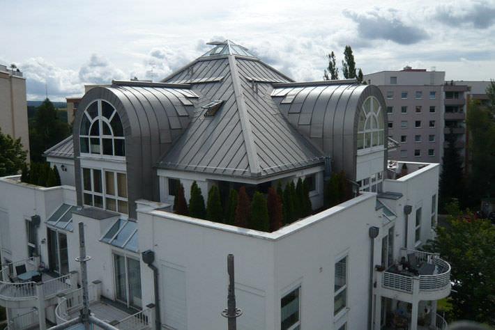 Captivating Zinc Titanium Roofing / Waterproof NEDZINK NOVA NedZink ...