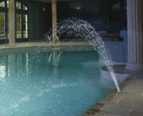 Pool fountain - WMF076 - CROWN JET - Crystal Fountains