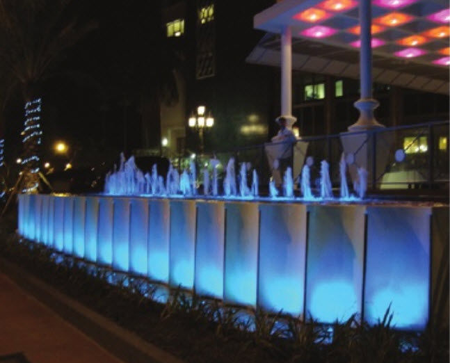 Spot Led Submersible ip68 moving head spot / led / submersible / for fountains - led002