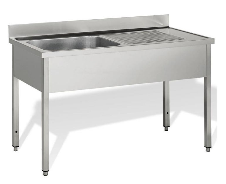 Kitchen Sink Cabinet With Legs For Commercial Kitchens 60 Line On Legs Ilsa