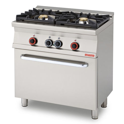 Gas Range Cooker / Commercial / With Grill