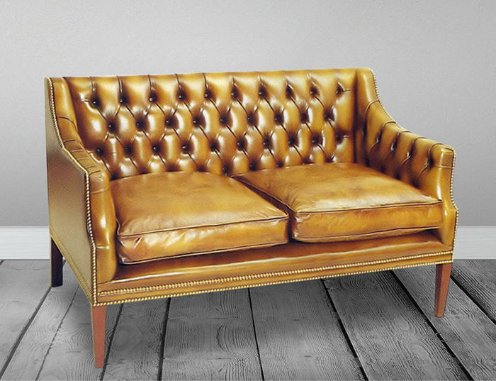 Prime Traditional Sofa Leather 2 Person 3 Seater Boston Ncnpc Chair Design For Home Ncnpcorg