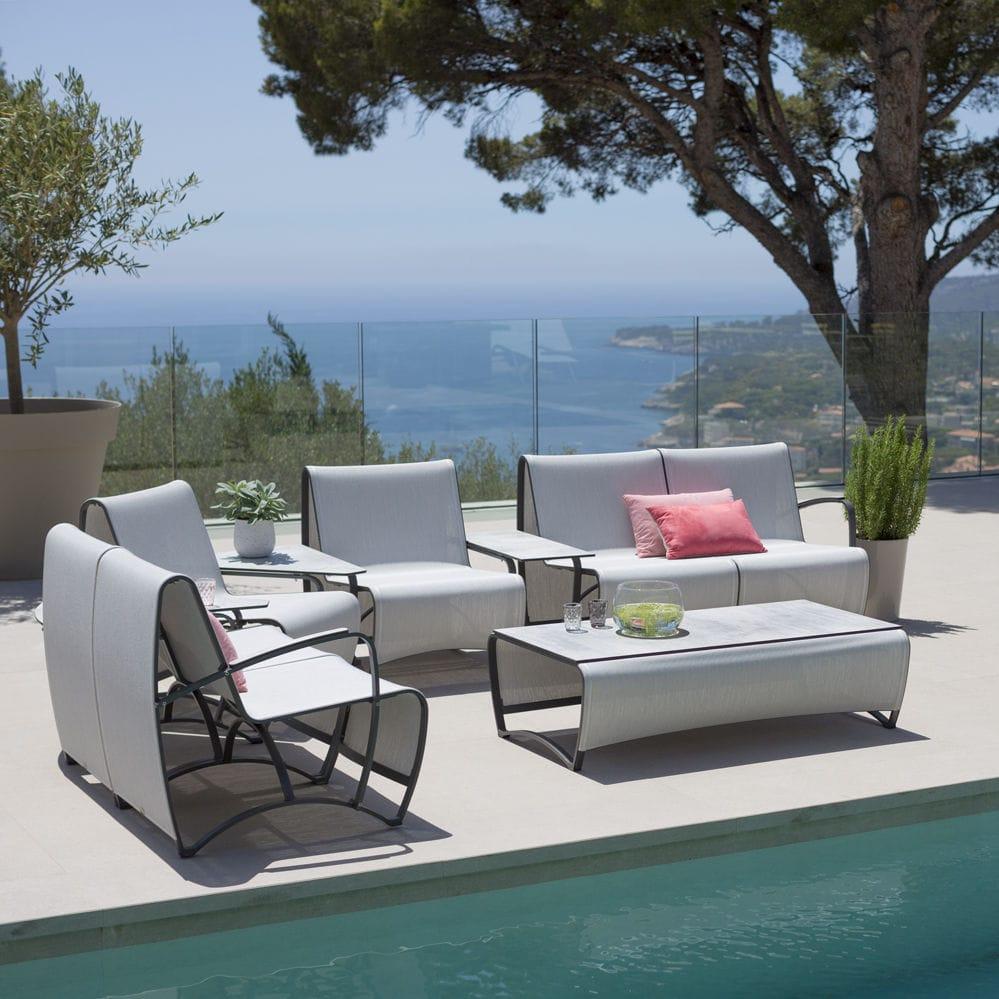 modular sofa / contemporary / garden / Batyline® - Modular Sofa / Contemporary / Garden / Batyline® - JET STREAM - LES