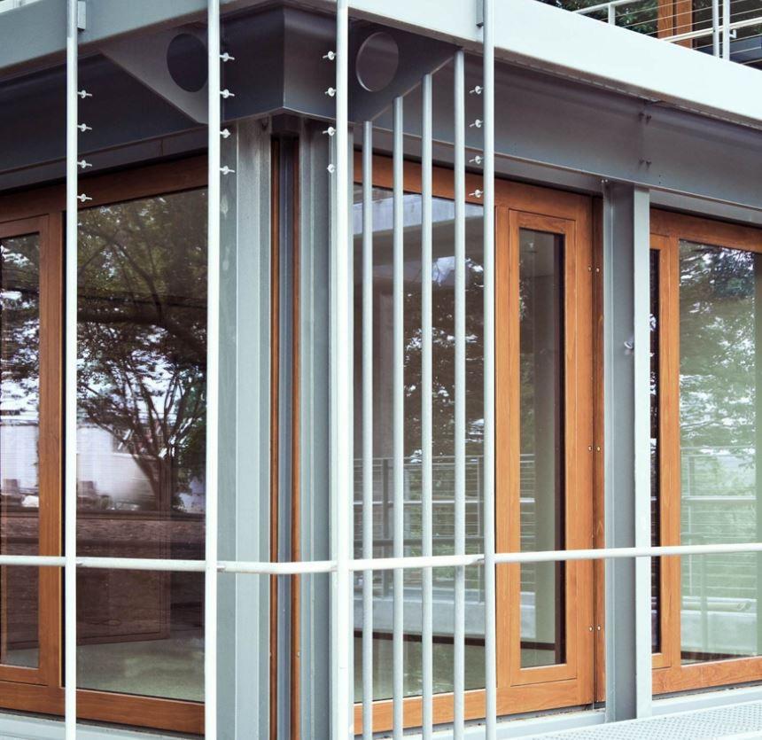 Sliding Patio Door Wooden Double Glazed Security German