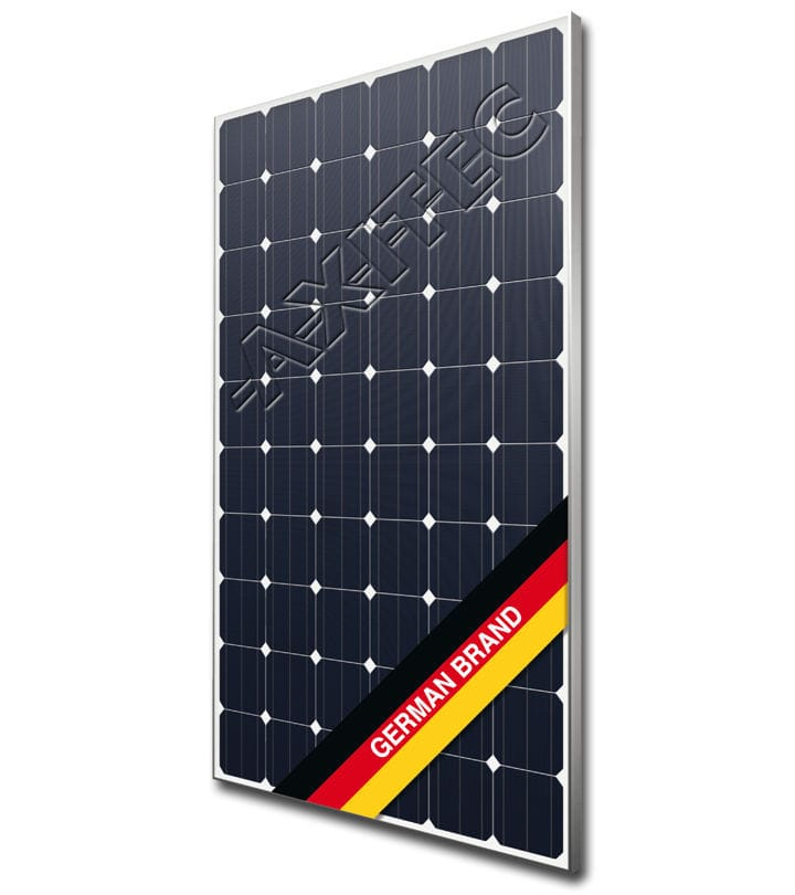 Monocrystalline PV panel / with anti-reflective glass / with ...