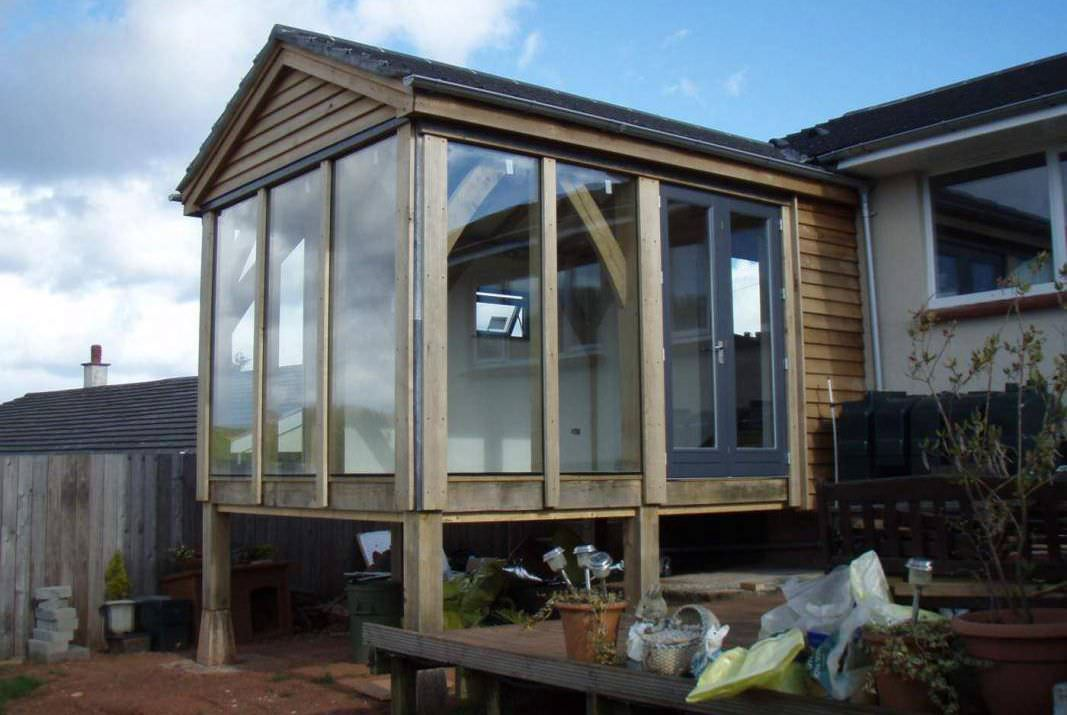 prefab conservatory