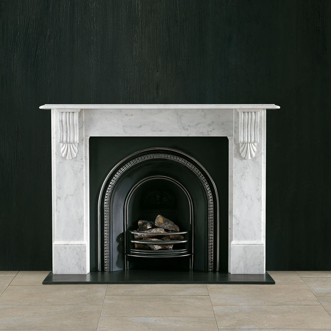 Traditional Fireplace Mantel Marble The Victorian Corbel Chesneys