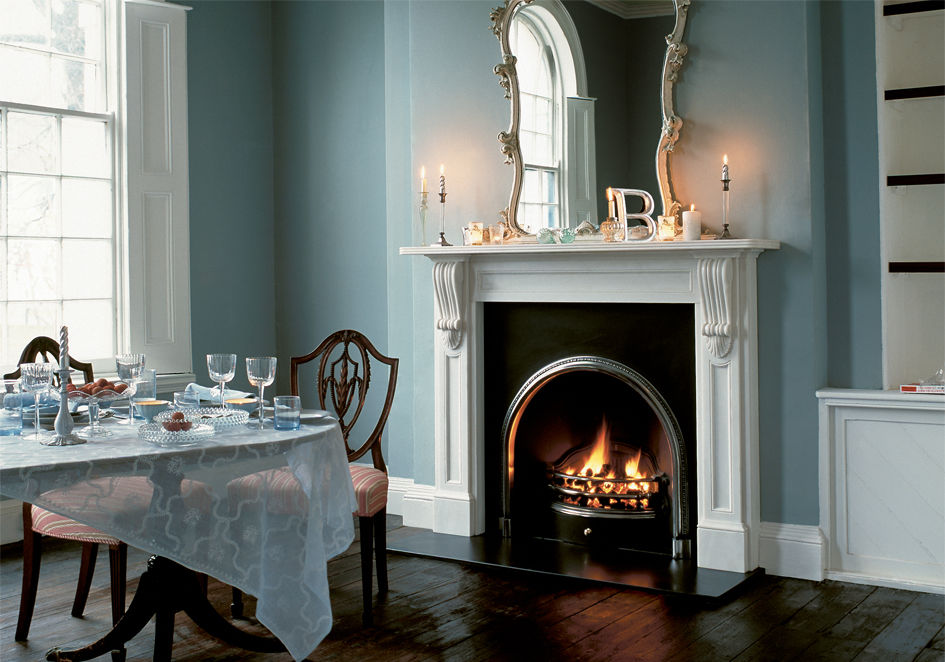Traditional fireplace mantel / stone - VICTORIAN: THE BUCKINGHAM ...