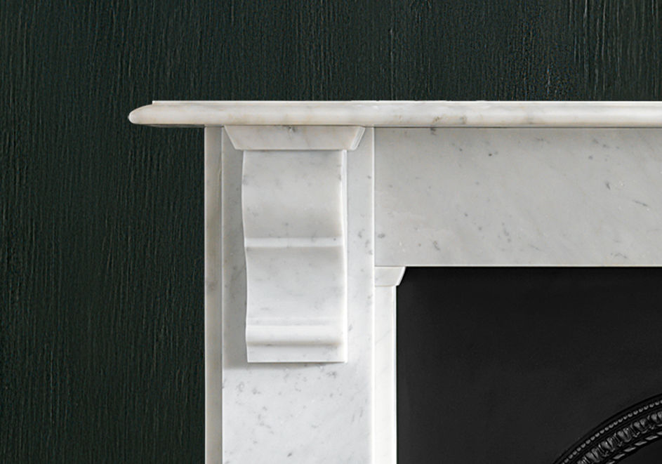 Traditional fireplace mantel / marble VICTORIAN: THE EDWARDIAN CORBEL  Chesney ... - Traditional Fireplace Mantel / Marble - VICTORIAN: THE EDWARDIAN