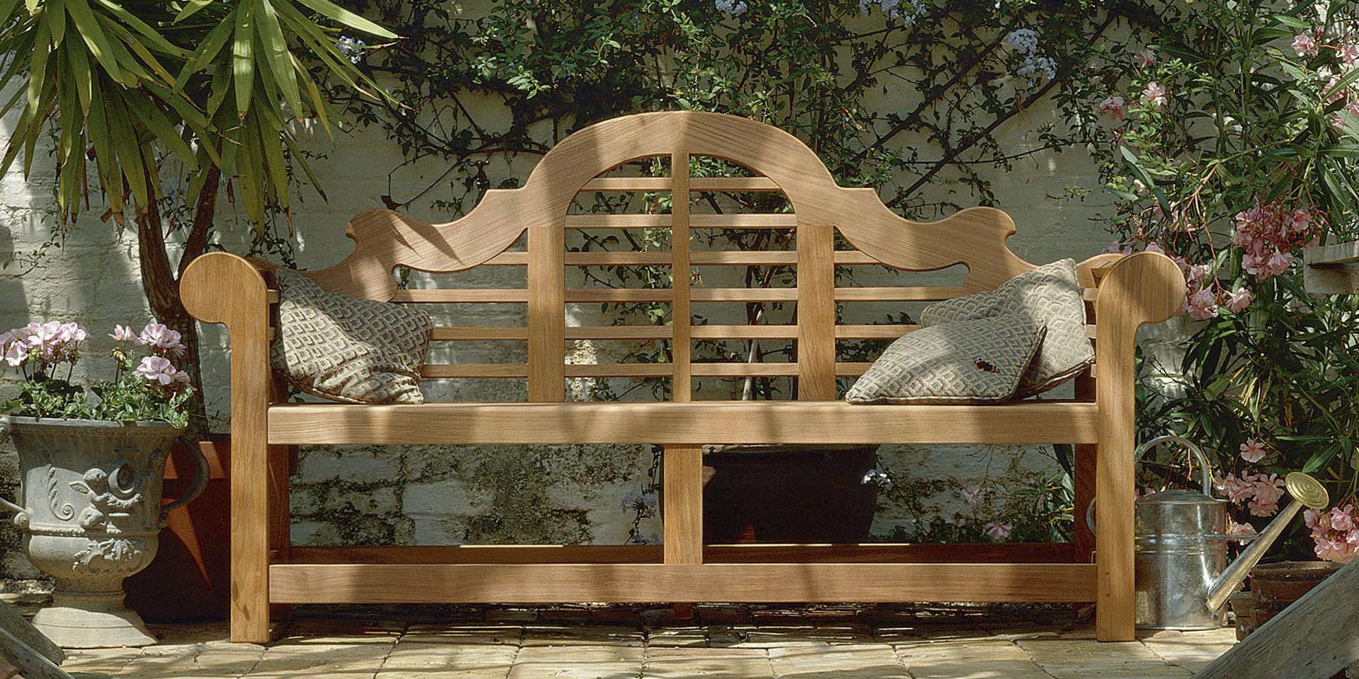Garden Bench / Traditional / Teak / With Backrest ...