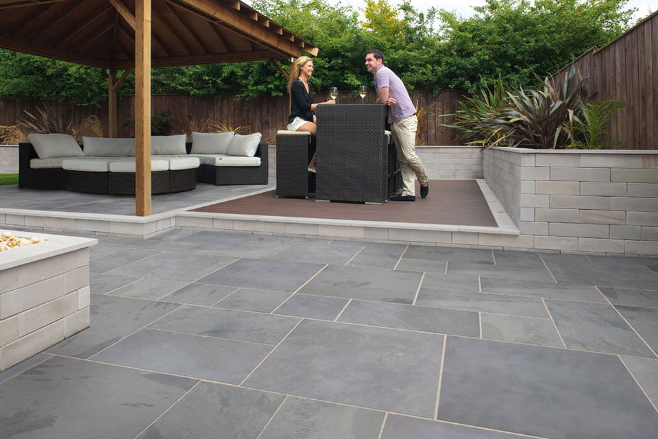 Outdoor Tile / Garden / For Floors / Slate   CASARTA