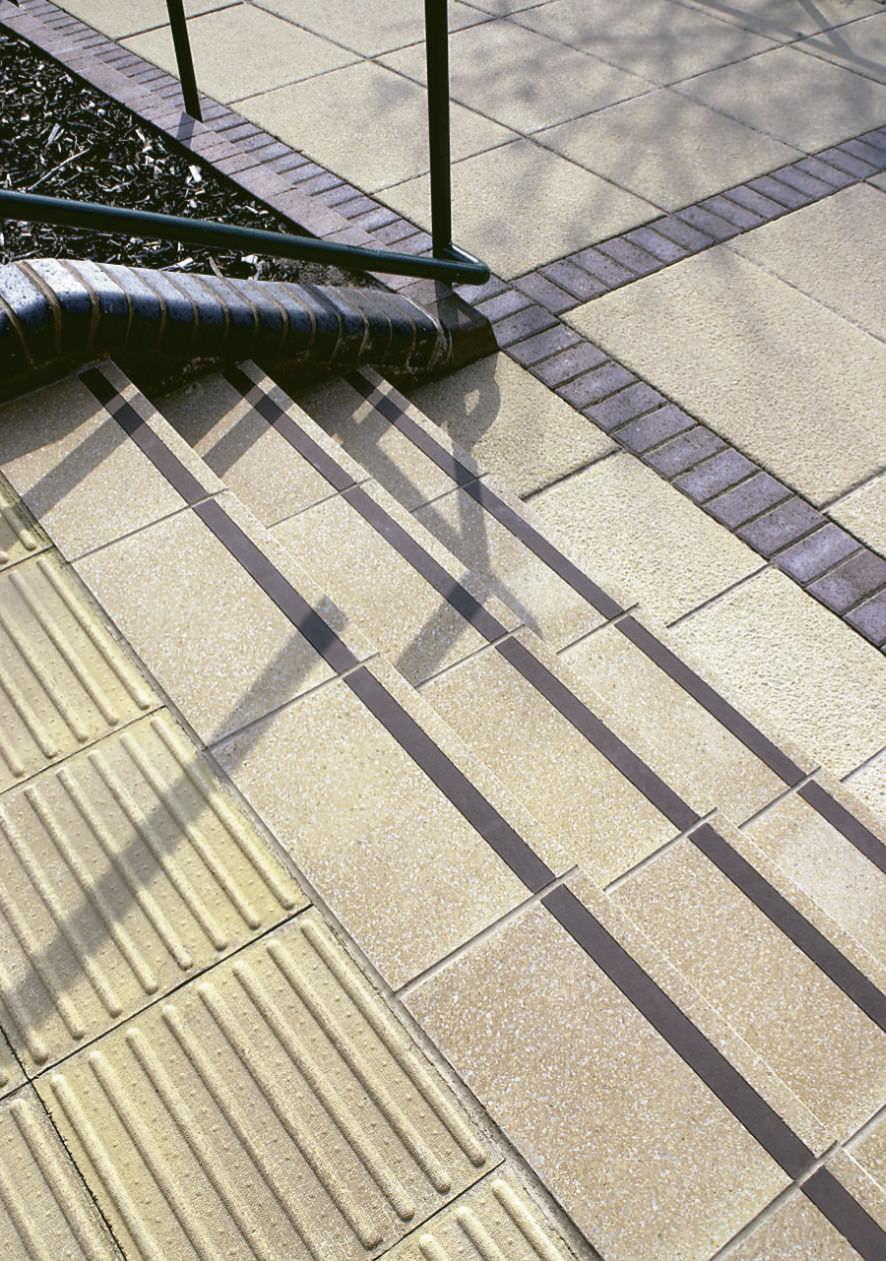 Concrete step / non-slip - Marshalls plc - Videos