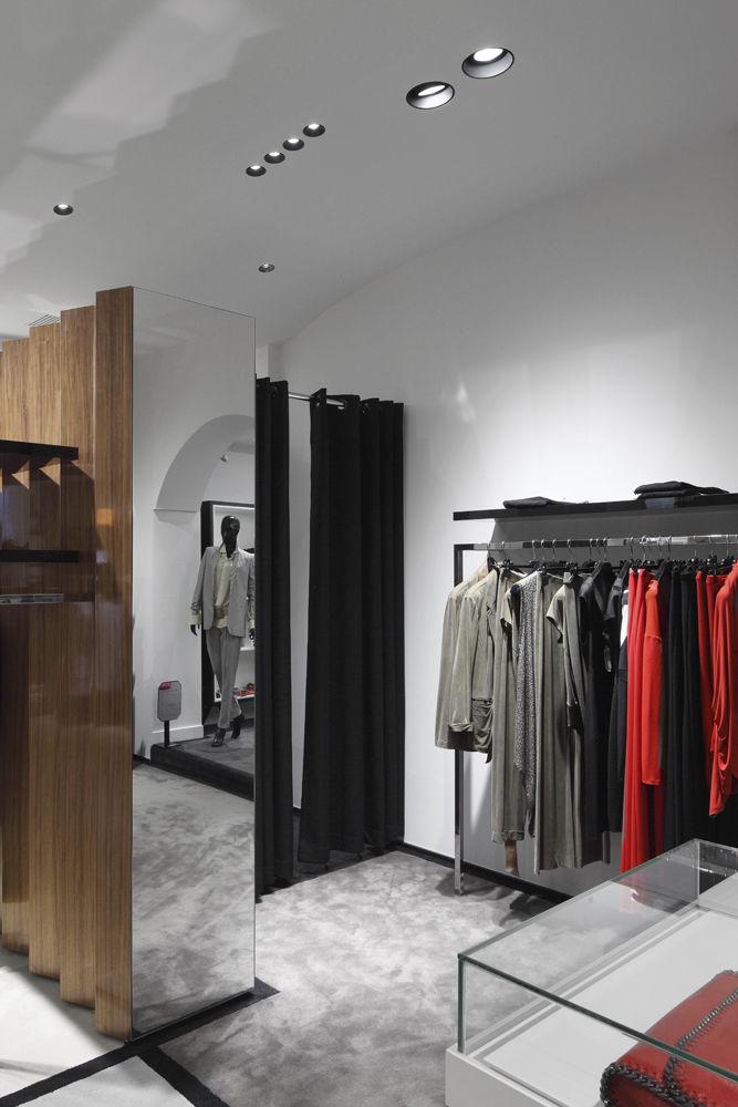 Recessed ceiling spotlight / indoor / HID / halogen - APLIS IN-LINE ...