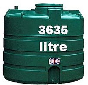 Above-ground tank / rainwater / polyethylene - BWST-V3635