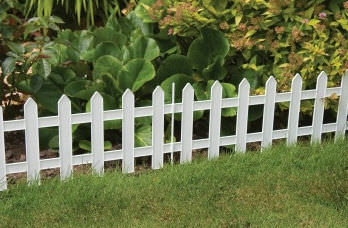 Garden Fence / With Bars / Wooden