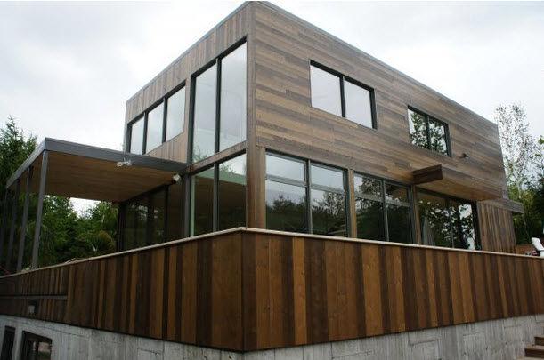 Modular house / unique design / two-story - LANAUDIÈRE - Faberca