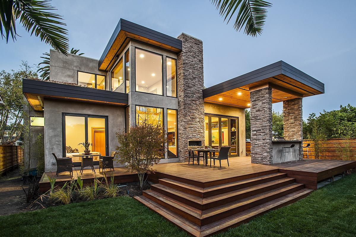 Characteristics. Type: prefab. Style: contemporary & Prefab house / contemporary / energy-efficient / two-story ...