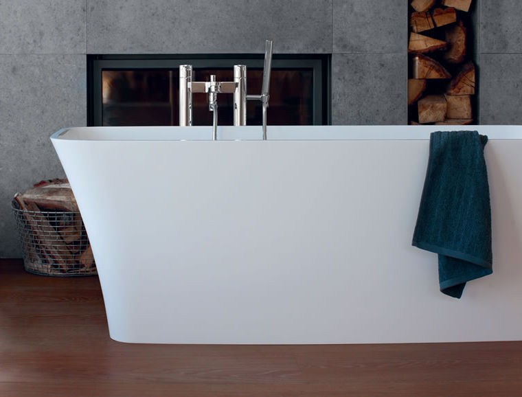 Free-standing bathtub / natural stone - PALERMO PICCOLO - Clearwater ...