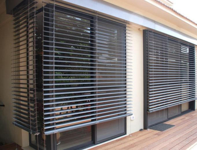 Venetian Blinds Aluminum Outdoor Commercial