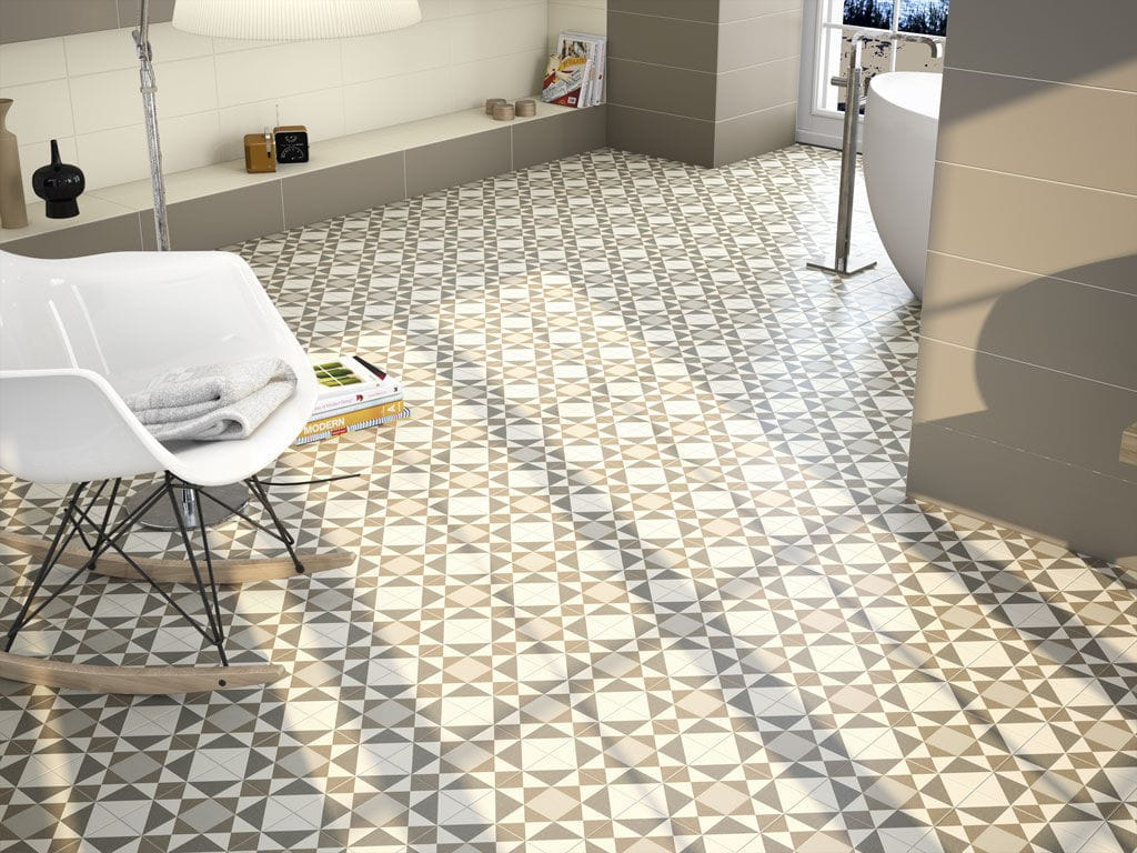 Bathroom tile / kitchen / floor / ceramic - HOME - APE - Videos